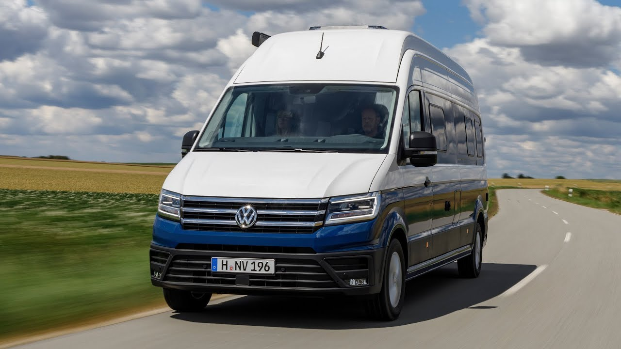 Volkswagen Grand California Campervan based on the Crafter ...