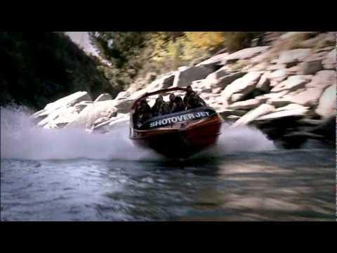 Shotover Jet Boat Ride - Queenstown, New Zealand