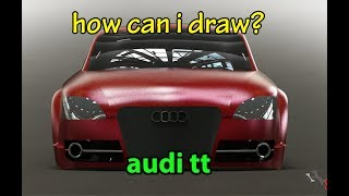 SolidWorks | How Can I Draw Audi TT (just steps)