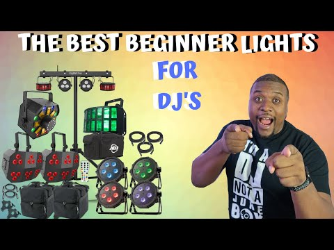 DJ LIGHT REVIEW   BEST BEGINNER LIGHTS FOR DJs   MOBILE DJ   VLOG