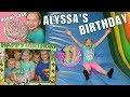 Alyssa's Amazing 11th Family Birthday Party
