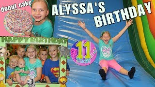 Alyssa's Amazing 11th Family Birthday Party