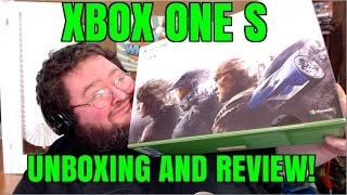 XBOX ONE S UNBOXING AND FIRST IMPRESSIONS