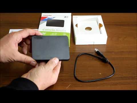 "Жесткий диск Toshiba Canvio Basics 2TB HDTB420EK3AA 2.5"" USB 3.0 External Black"