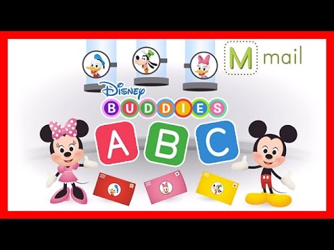 Disney Buddies ABCs: ABC Song & Game w/ Mickey Mouse - Learn the Alphabet Educational App for Kids