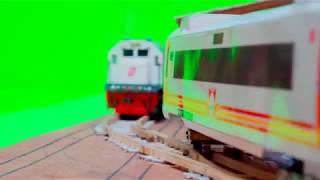 Miniatur Kereta Api: Stop Motion
