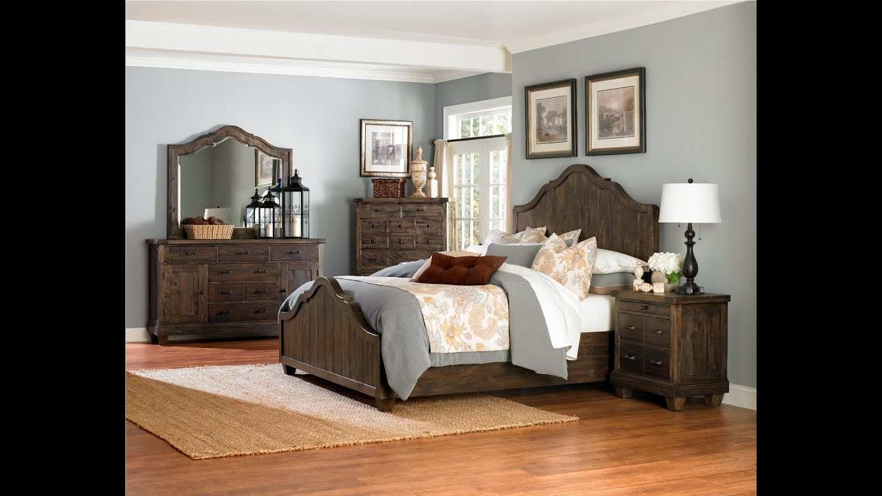 brown bedroom furniture brenley bedroom b2524 by magnussen furniture 10952