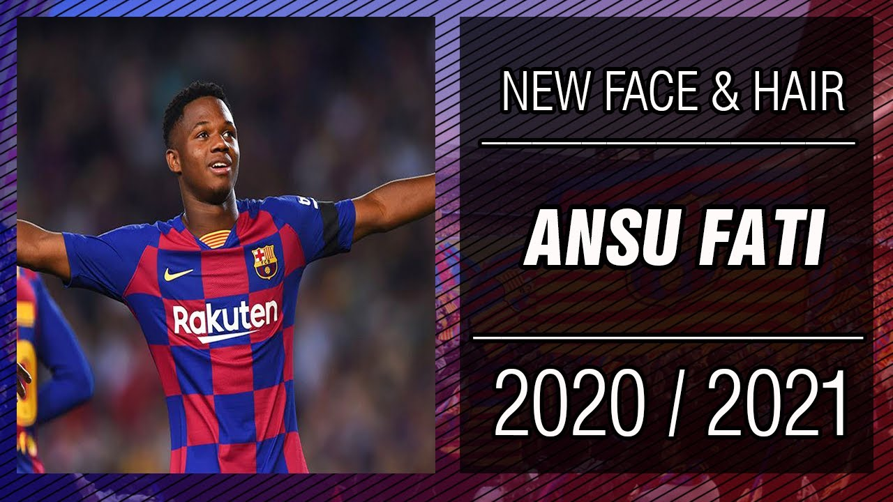 PES 2013 | New Face & Hair • Ansu Fati • 2020 / 2021 • HD ...