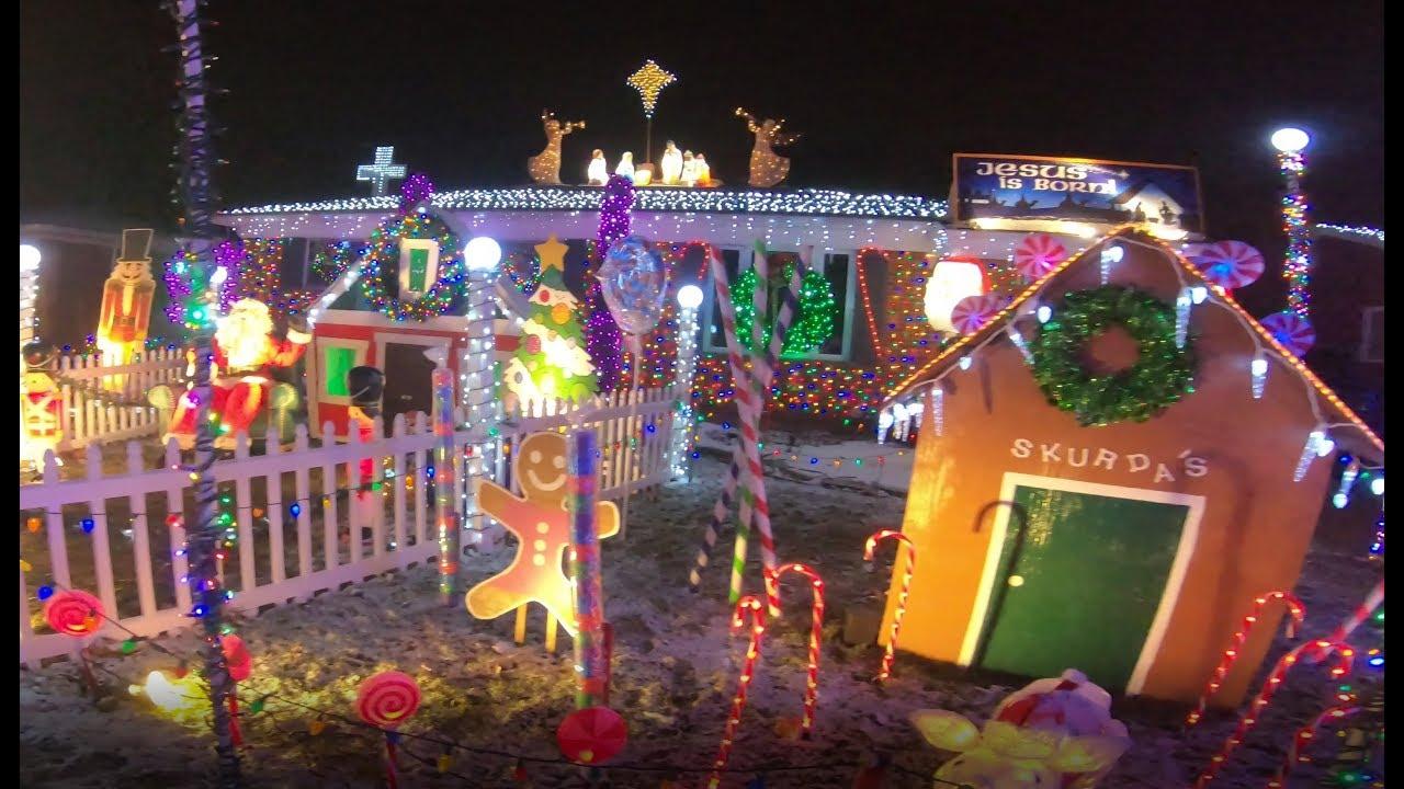 Christmas Light Display 2017