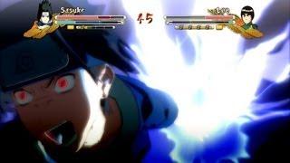(XBOX 360) PTS Sasuke vs PTS Rock Lee Naruto Ultimate Ninja Storm 3