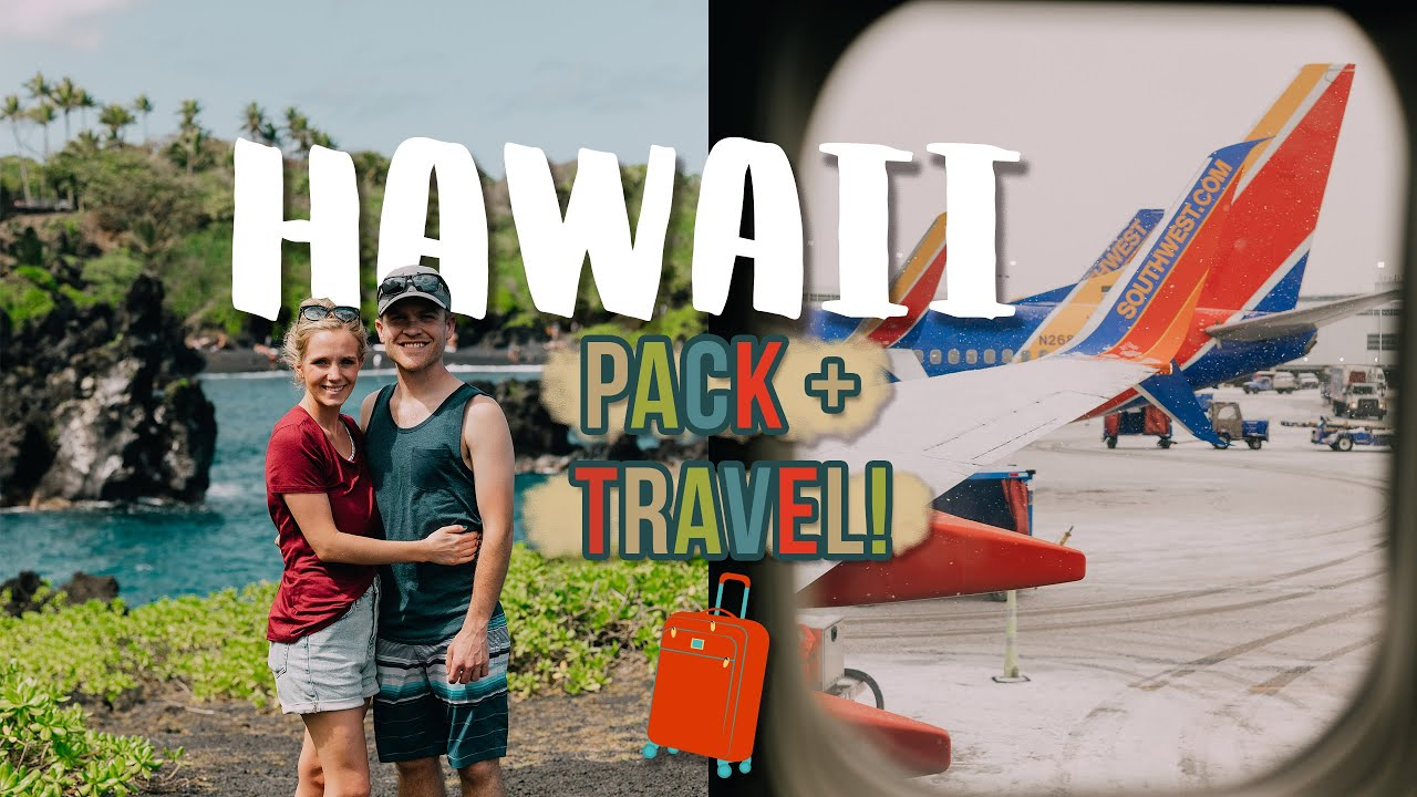 PACK + TRAVEL WITH ME TO HAWAII :