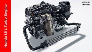 Honda 1.5L Turbo Engine - Earth Dreams Technology