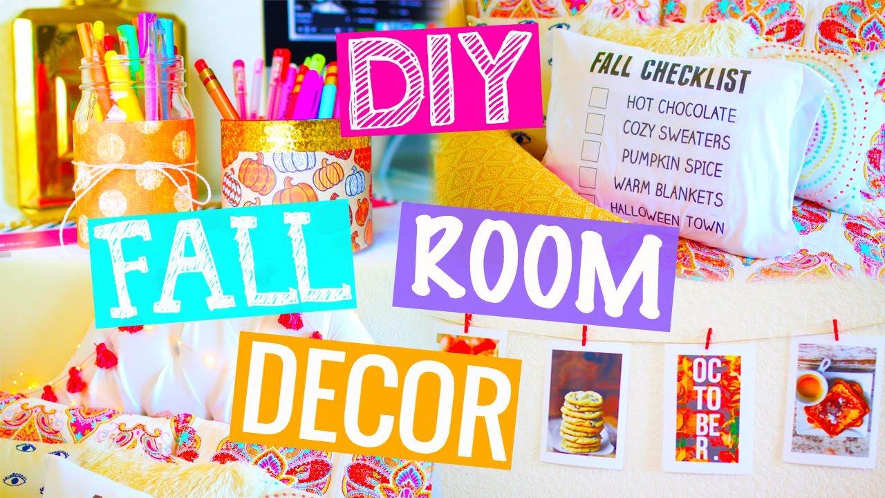 fall room decor diy youtube 61 best room decoration ideas on a