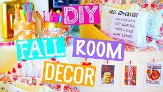 Diy Fall Room Decor! Cheap & Easy! 2015