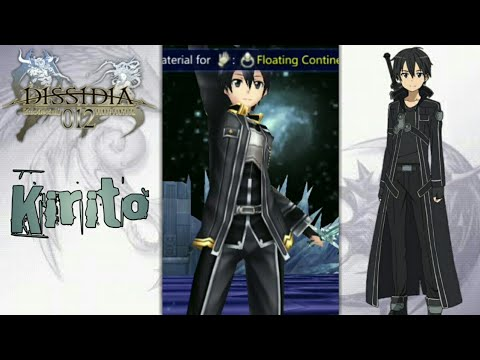 Final Fantasy Dissidia 012 - MOD DLC Kirito From (Sword Art Online)   Ppsspp Android