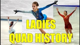 LADIES QUAD HISTORY 2018 | Trusova, Ando, & Bonaly | Figure Skating Mashup