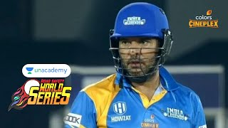 Unacademy RSWS Cricket | India Legends Vs South Africa Legends | Full Match Highlights | #RSWS