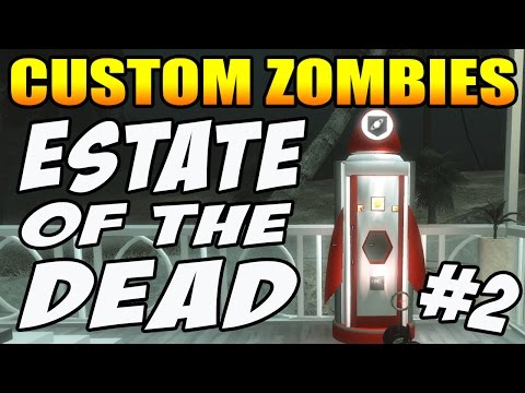 "GRAV-A-RITA COLA ""Estate Of The Dead"" Pt 2 (Call of Duty Zombies)"