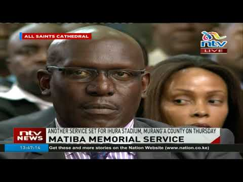 President Kenyatta: I challenge any person to show me such a leader like Matiba in Kenya