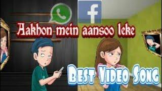 Aankhon mein aansoo leke.lyrics ek haseena thi ek deew  WhatsApp status video sad and love song 2018