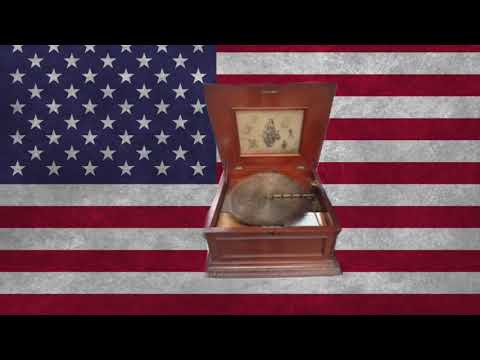 """The star spangled banner"" played on a Regina music box"