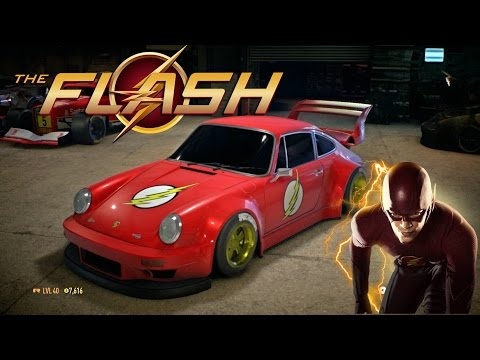 """Need for Speed 2015   The Flash Edition Paint Job """"Porsche 911 Carrera RSR """" Best car to customize"""