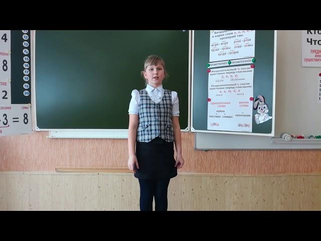 Изображение предпросмотра прочтения – ПолинаСутормина читает произведение «Русские народные загадки» (Русский фольклор )