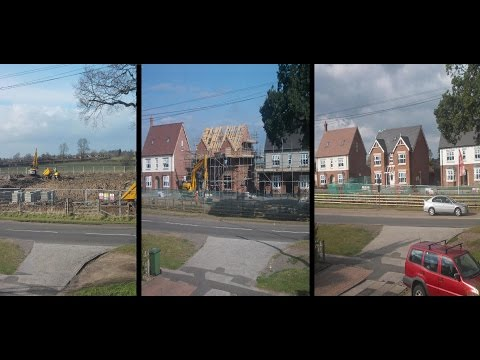 Time Lapse Photography of Building Development: See How Houses Grow in a Year