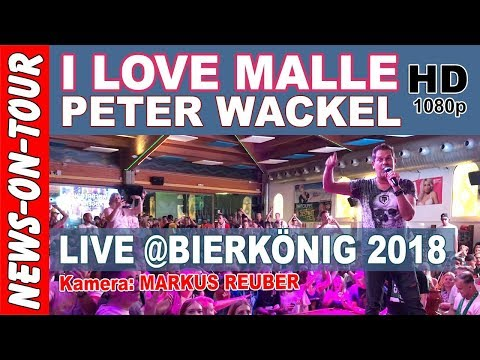 I love Malle - Peter Wackel |Bierkönig Schinkenstrasse Mallorca (Official NoT Video) - Youtube