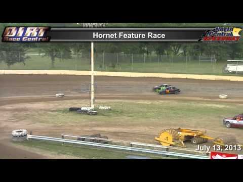 North Central Speedway 7 13 13 Hornet Feature Race
