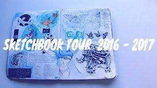 Sketchbook Tour | 2016 - 2017