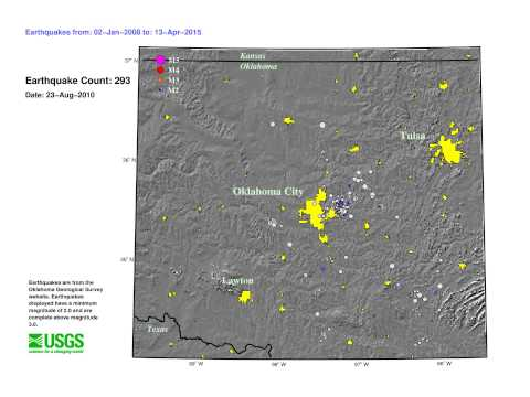 More earthquakes due to human activities, says USGS