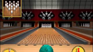 World Class Bowling (Arcade, MAME) Perfect Game (300)