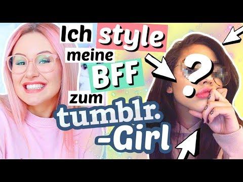 Ich style meine BFF zum tumblr GIRL um 😍 | ViktoriaSarina