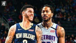 New Orleans Pelicans vs Detroit Pistons - Game Highlights   January 13, 2020   2019-20 NBA Season