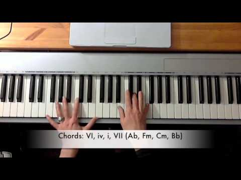 How To Play Lovesong The Adele Version Youtube