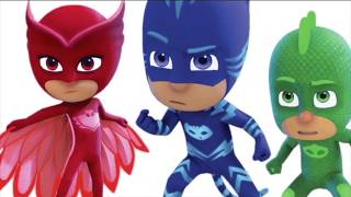Learn Colors With PJ Masks Superhero Wrong Heads Matching Game For Kids