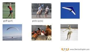 Vocabulario Inglés: Los Deportes  (Sports)