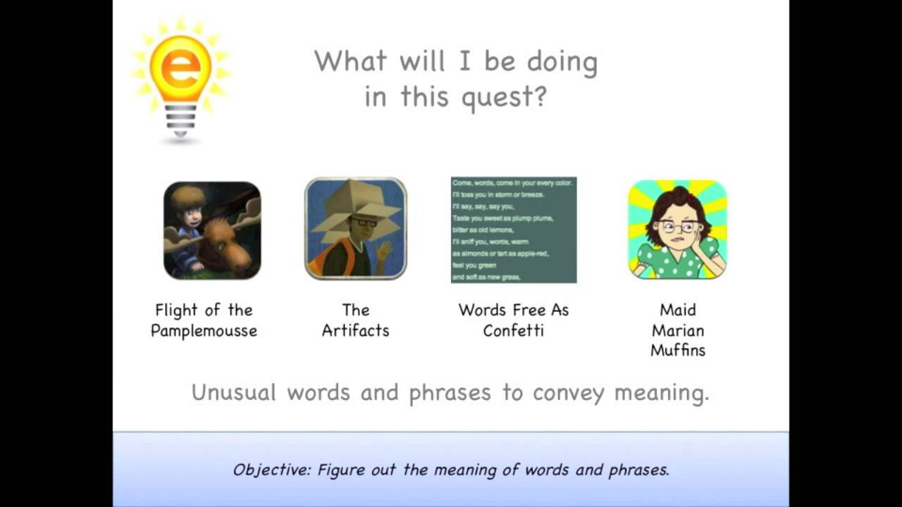 eSpark Learning: Determining Meaning Framing Video (4.RL Quest 3 ...
