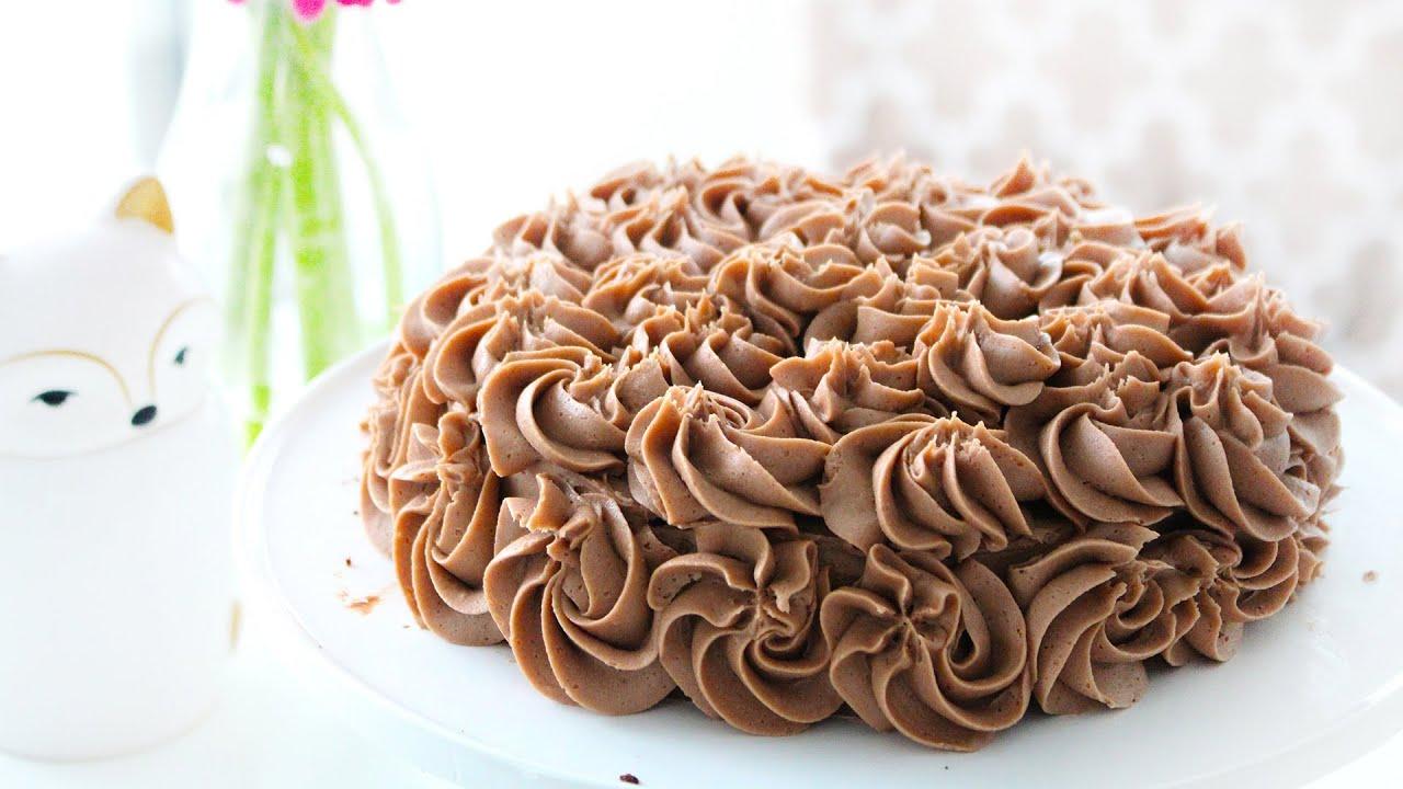 Chocolate Birthday Cake Recipe Easy Quick Youtube