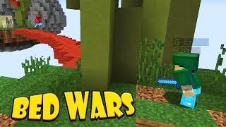 SOFTIS VÄNTAR RUNT KNUTEN | Minecraft Bed Wars