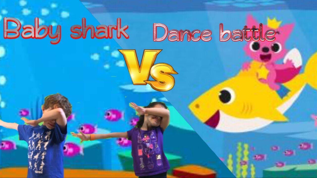 Baby Shark Dance Battle | Baby Shark Challenge - YouTube