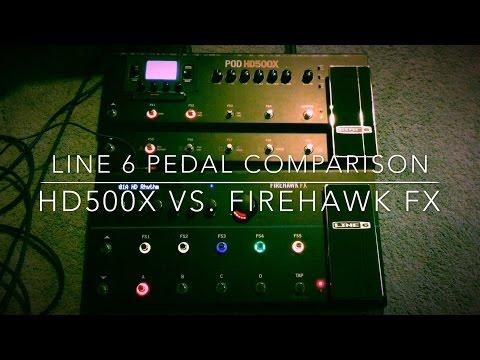 Line 6 HD500X vs Firehawk FX