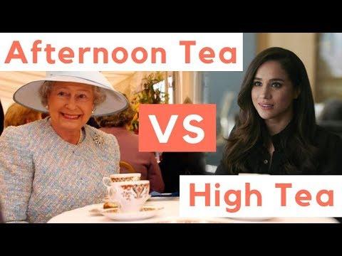 High Tea Vs. Afternoon Tea