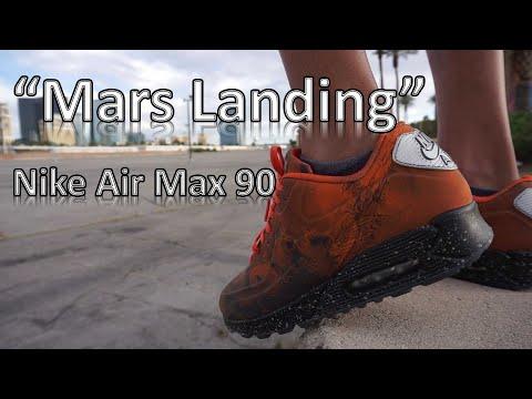 "nike-air-max-90-""mars-landing""-+-nike-tejon-vlog"
