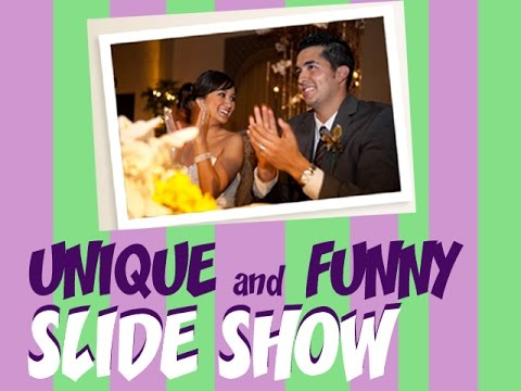 Unique And Funny Wedding Slideshow Youtube