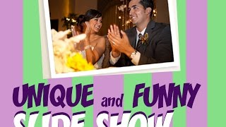 UNIQUE and FUNNY wedding slideshow thumbnail