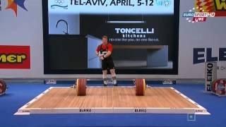 ЧЕ 2014 по Тяжелой Атлетике Тель-Авив мужчины до 105кг