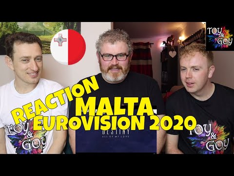 MALTA EUROVISION 2020 REACTION: Destiny - All Of My Love