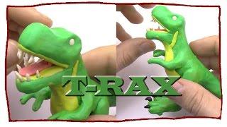 Динозавр из пластилина. TYRANNOSAURUS. T-RAX своими руками(Лепим динозавра из пластилина. Лепка для детей 5-6 лет. Передаю привет каналу Видео лепка. -----------------------------------..., 2016-02-22T11:11:47.000Z)